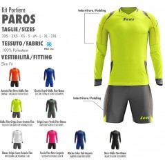 Goalkeeper Kit Paros Zeus