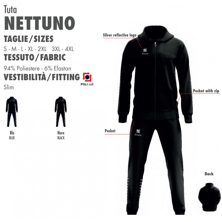 Tracksuit Nettuno Zeus