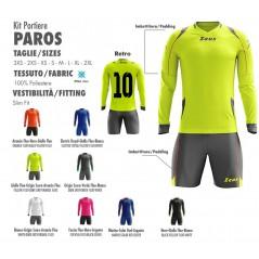 Goalkeeper Kit Complete Paros Zeus + Print Number Free