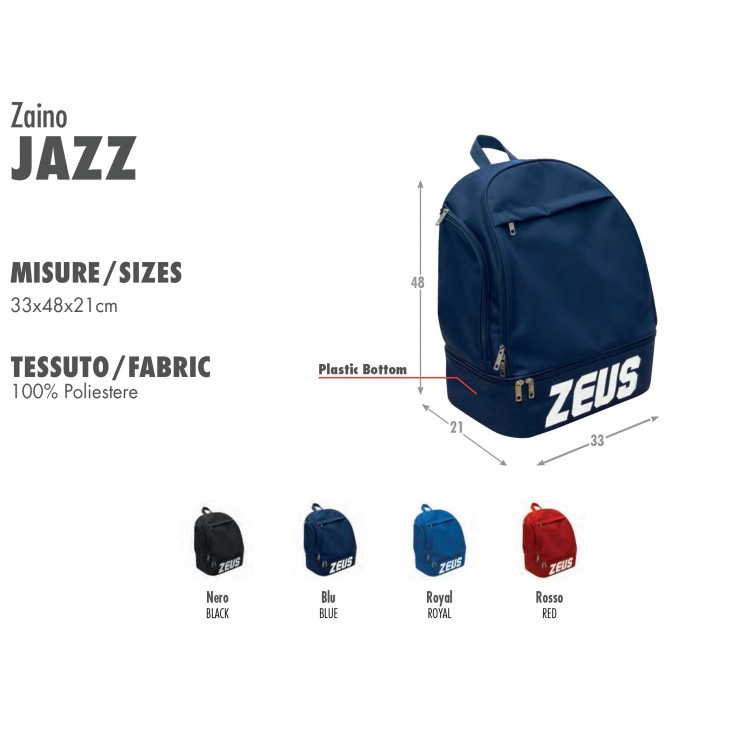 Backpack Training Jazz